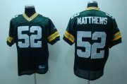 Wholesale Cheap Packers #52 Clay Matthews Green Stitched NFL Jersey