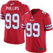Wholesale Cheap Nike Bills #99 Harrison Phillips Red Men's Stitched NFL Limited Rush Jersey