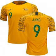Wholesale Cheap Australia #9 Juric Home Soccer Country Jersey