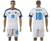 Wholesale Cheap Slovakia #18 Svento Home Soccer Country Jersey