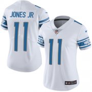 Wholesale Cheap Nike Lions #11 Marvin Jones Jr White Women's Stitched NFL Vapor Untouchable Limited Jersey