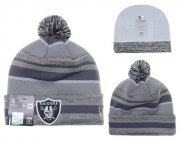Wholesale Cheap Oakland Raiders Beanies YD013