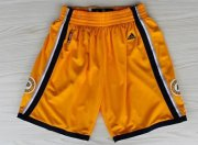 Wholesale Cheap Indiana Pacers Yellow Short