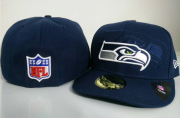 Wholesale Cheap Seattle Seahawks fitted hats 09