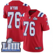 Wholesale Cheap Nike Patriots #76 Isaiah Wynn Red Alternate Super Bowl LIII Bound Youth Stitched NFL Vapor Untouchable Limited Jersey