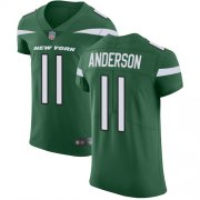 Wholesale Cheap Nike Jets #11 Robby Anderson Green Team Color Men's Stitched NFL Vapor Untouchable Elite Jersey