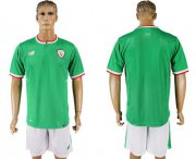 Wholesale Cheap Ireland Blank Green Soccer Country Jersey