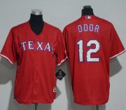 Wholesale Cheap Rangers #12 Rougned Odor Red Cool Base Stitched Youth MLB Jersey