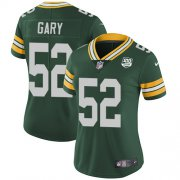 Wholesale Cheap Nike Packers #52 Rashan Gary Green Team Color Women's 100th Season Stitched NFL Vapor Untouchable Limited Jersey
