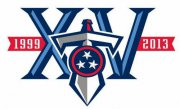 Wholesale Cheap Stitched Tennessee Titans 10th Anniversary Jersey Patch