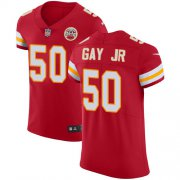 Wholesale Cheap Nike Chiefs #50 Willie Gay Jr. Red Team Color Men's Stitched NFL Vapor Untouchable Elite Jersey