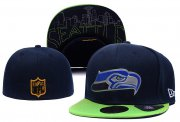 Wholesale Cheap Seattle Seahawks fitted hats 01
