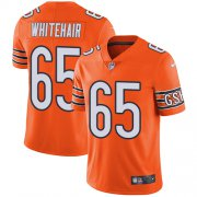 Wholesale Cheap Nike Bears #65 Cody Whitehair Orange Men's Stitched NFL Limited Rush Jersey