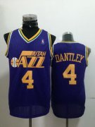 Wholesale Cheap Utah Jazz #4 Adrian Dantley Purple Swingman Throwback Jersey