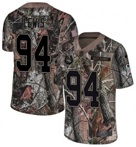 Wholesale Cheap Nike Colts #94 Tyquan Lewis Camo Men\'s Stitched NFL Limited Rush Realtree Jersey