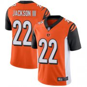 Wholesale Nike Bengals #22 William Jackson Orange Alternate Men's Stitched NFL Vapor Untouchable Limited Jersey