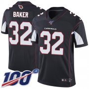 Wholesale Cheap Nike Cardinals #32 Budda Baker Black Alternate Men's Stitched NFL 100th Season Vapor Limited Jersey