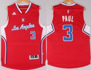 Wholesale Cheap Los Angeles Clippers #3 Chris Paul Revolution 30 Swingman 2014 New Red Jersey