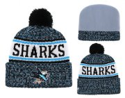 Wholesale Cheap NHL SAN JOSE SHARKS Beanies 1