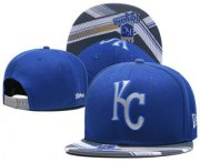 Wholesale Cheap Kansas City Royals Snapback Ajustable Cap Hat GS 6