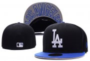 Wholesale Cheap Los Angeles Dodgers fitted hats 07