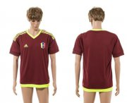 Wholesale Cheap Venezuela Blank Home Soccer Country Jersey