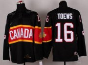 Wholesale Cheap Olympic 2014 CA. #16 Jonathan Toews Black Stitched NHL Jersey