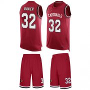 Wholesale Cheap Nike Cardinals #32 Budda Baker Red Team Color Men's Stitched NFL Limited Tank Top Suit Jersey