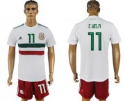 Wholesale Cheap Mexico #11 C.Vela Away Soccer Country Jersey