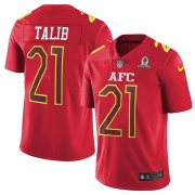 Wholesale Cheap Nike Broncos #21 Aqib Talib Red Men's Stitched NFL Limited AFC 2017 Pro Bowl Jersey