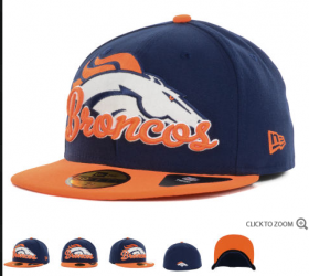 Wholesale Cheap Denver Broncos fitted hats 21