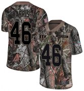 Wholesale Cheap Nike Bengals #46 Clark Harris Camo Youth Stitched NFL Limited Rush Realtree Jersey