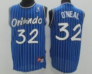 Wholesale Cheap Men's Orlando Magic #32 Shaquille O'neal Blue Stitched NBA Nike Swingman Jersey