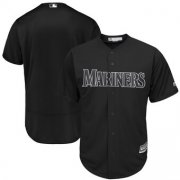 Wholesale Cheap Seattle Mariners Blank Majestic 2019 Players' Weekend Cool Base Team Jersey Black