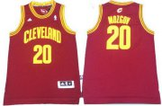 Wholesale Cheap Men's Cleveland Cavaliers #20 Timofey Mozgov Revolution 30 Swingman Red Jersey