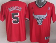 Wholesale Cheap Chicago Bulls #5 Carlos Boozer Revolution 30 Swingman 2013 Christmas Day Red Jersey