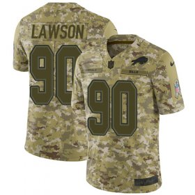Wholesale Cheap Nike Bills #90 Shaq Lawson Camo Men\'s Stitched NFL Limited 2018 Salute To Service Jersey