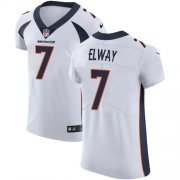 Wholesale Cheap Nike Broncos #7 John Elway White Men's Stitched NFL Vapor Untouchable Elite Jersey