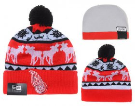 Wholesale Cheap Detroit Red Wings Beanies YD005