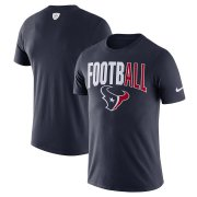 Wholesale Cheap Houston Texans Nike Sideline All Football Performance T-Shirt Navy