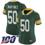 Wholesale Cheap Nike Packers #50 Blake Martinez Green Team Color Women's Stitched NFL 100th Season Vapor Limited Jersey
