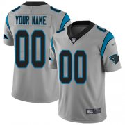 Wholesale Cheap Nike Carolina Panthers Customized Silver Men's Stitched NFL Limited Inverted Legend Jersey