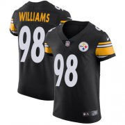 Wholesale Cheap Nike Steelers #98 Vince Williams Black Team Color Men's Stitched NFL Vapor Untouchable Elite Jersey