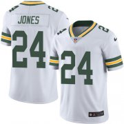 Wholesale Cheap Nike Packers #24 Josh Jones White Men's Stitched NFL Vapor Untouchable Limited Jersey