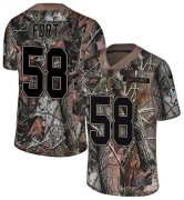 Wholesale Cheap Nike Eagles #58 LJ Fort Camo Men's Stitched NFL Limited Rush Realtree Jersey