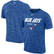Wholesale Cheap Toronto Blue Jays Nike Authentic Collection Velocity Team Issue Performance T-Shirt Royal