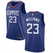 Wholesale Cheap Nike Clippers #23 Louis Williams Blue NBA Swingman Icon Edition Jersey