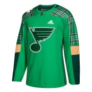 Wholesale Cheap Adidas Blues Blank Tarasenko adidas Green St. Patrick's Day Authentic Practice Stitched NHL Jersey