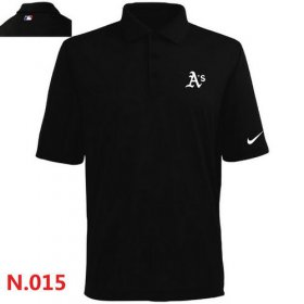 Wholesale Cheap Nike Oakland Athletics 2014 Players Performance Polo Black