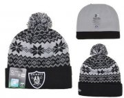 Wholesale Cheap Oakland Raiders Beanies YD008
